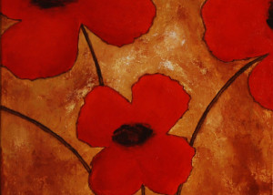 Poppies -SOLD