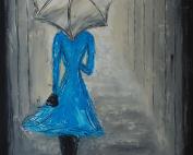 My Blue Dress by Deb Houston