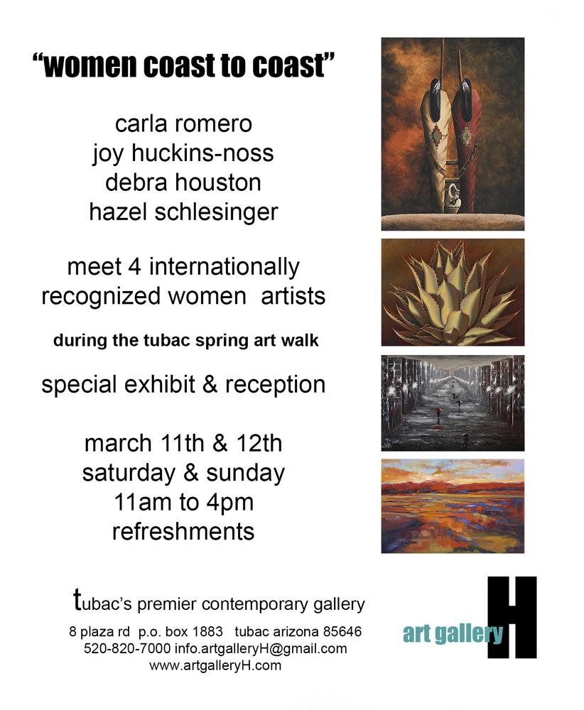 Upcoming Show at Art Gallery H