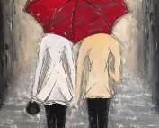 Shared Umbrella by Deb Houston